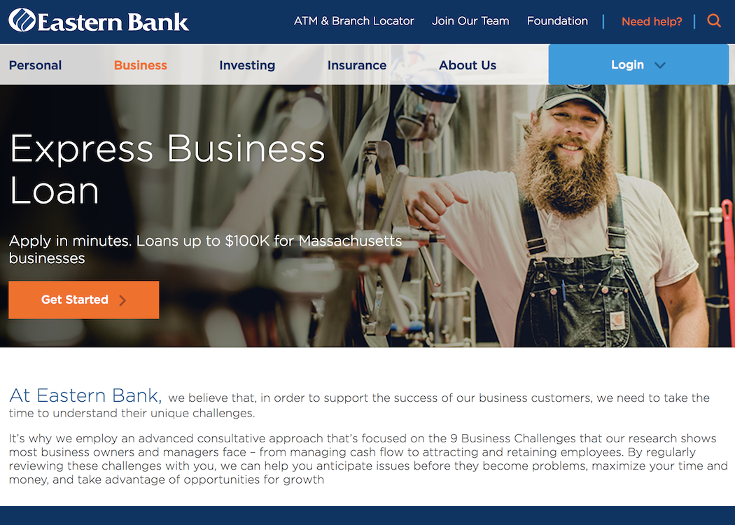 CS - Eastern Bank Thumbnail