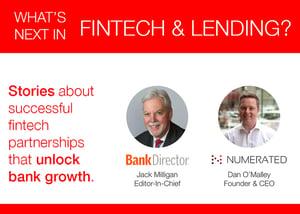 what's next in fintech and lending webinar