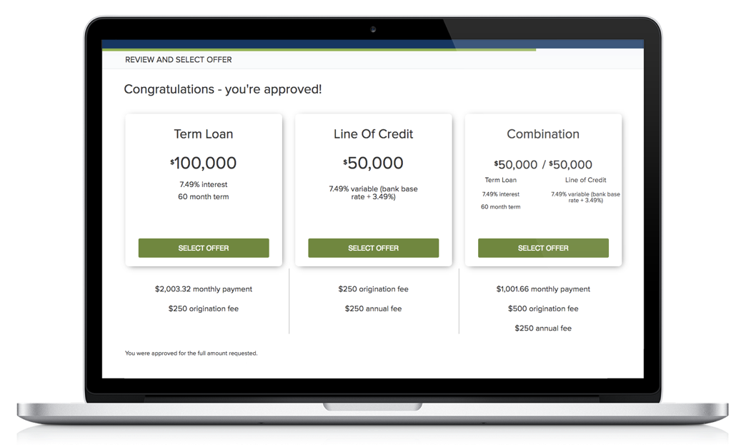 real-time lending offer (1)
