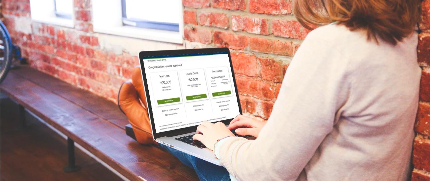 Real-time lending offer 002