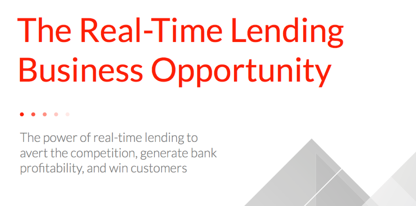 real-time lending whitepaper